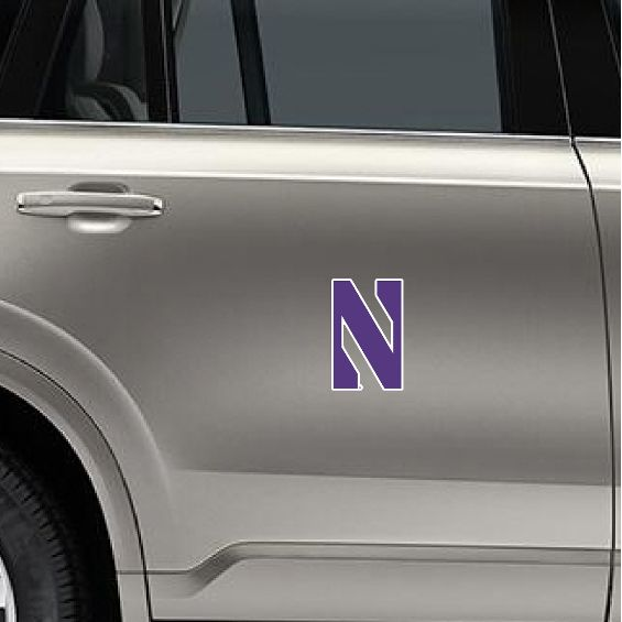 Northwestern Wildcats Gameday Magnet-Small