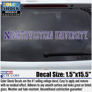 Northwestern University Wildcats Sticker