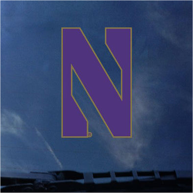 Northwestern Wildcats Gothic N Decal