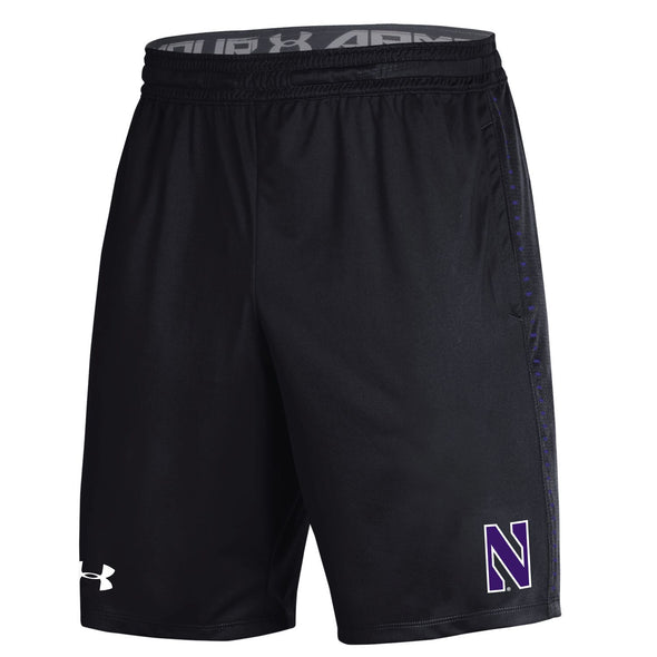 Northwestern Wildcats Under Armour Youth Raid Short-Black