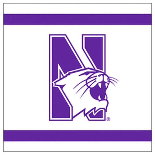 Northwestern Wildcats Beverage Napkins