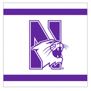 Northwestern Wildcats Lunch Napkin