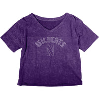 Northwestern Wildcats Women's Mineral Wash T-Shirt