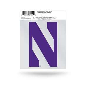 Northwestern Wildcats Small Static Cling