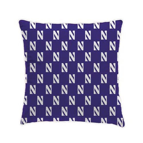 Northwestern Wildcats Spirit Pillow