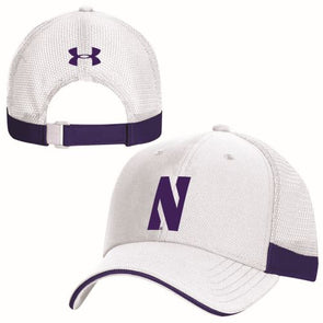 Northwestern Wildcats Under Armour Blitzing Accent Cap-White