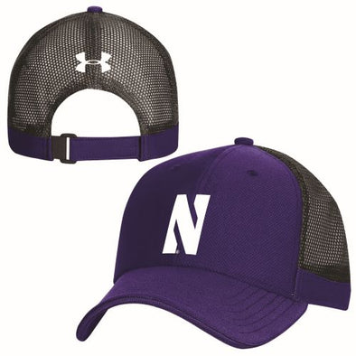 Northwestern Wildcats Under Armour Blitzing Accent Cap-Purple