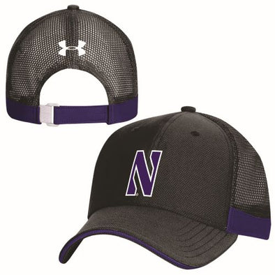 Northwestern Wildcats Under Armour Blitzing Accent Cap-Black