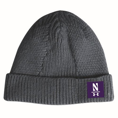 Northwestern Wildcats Under Armour Fashion Beanie-Grey