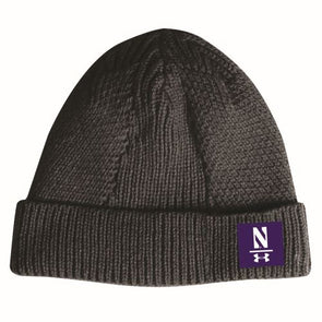 Northwestern Wildcats Under Armour Fashion Beanie-Black