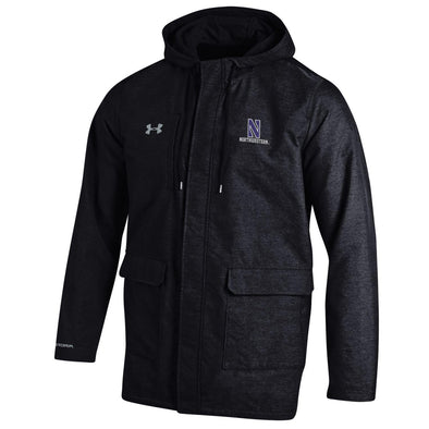 Northwestern Wildcats Under Armour® Twill Rain Jacket