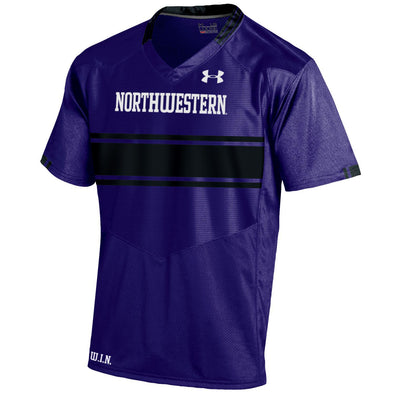 Northwestern Wildcats Under Armour® Adult Purple (2016) Custom Replica Football Jersey