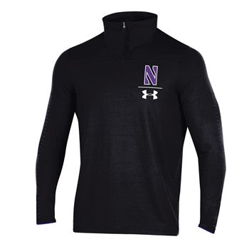Northwestern Wildcats Under Armour Black Quarter Zip