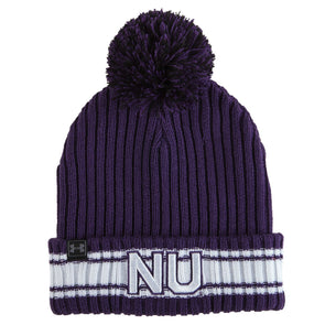 Northwestern Wildcats Under Armour Old School 150 College Football Anniversary Knit Hat