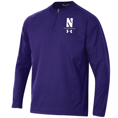 Northwestern Wildcats Long Sleeve Cage Jacket-Purple