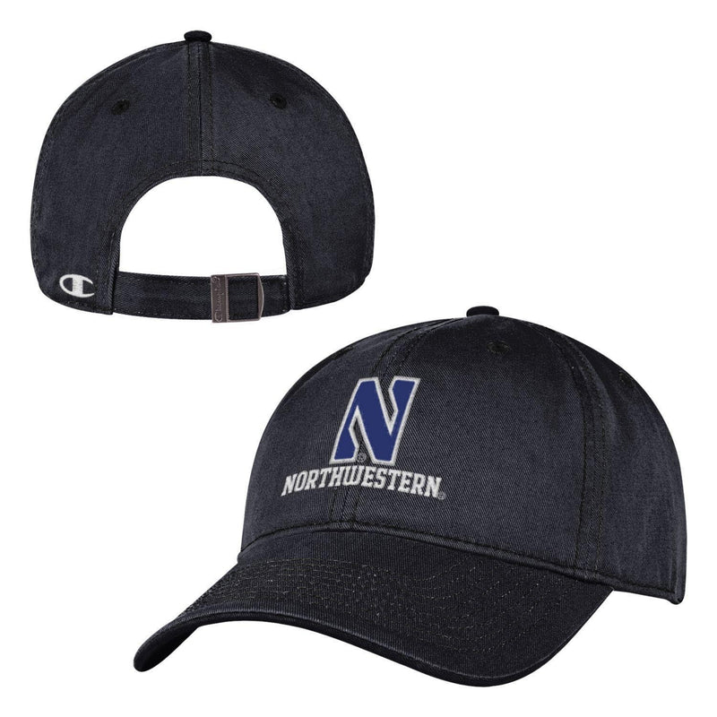 Northwestern Wildcats Black Campus Cap