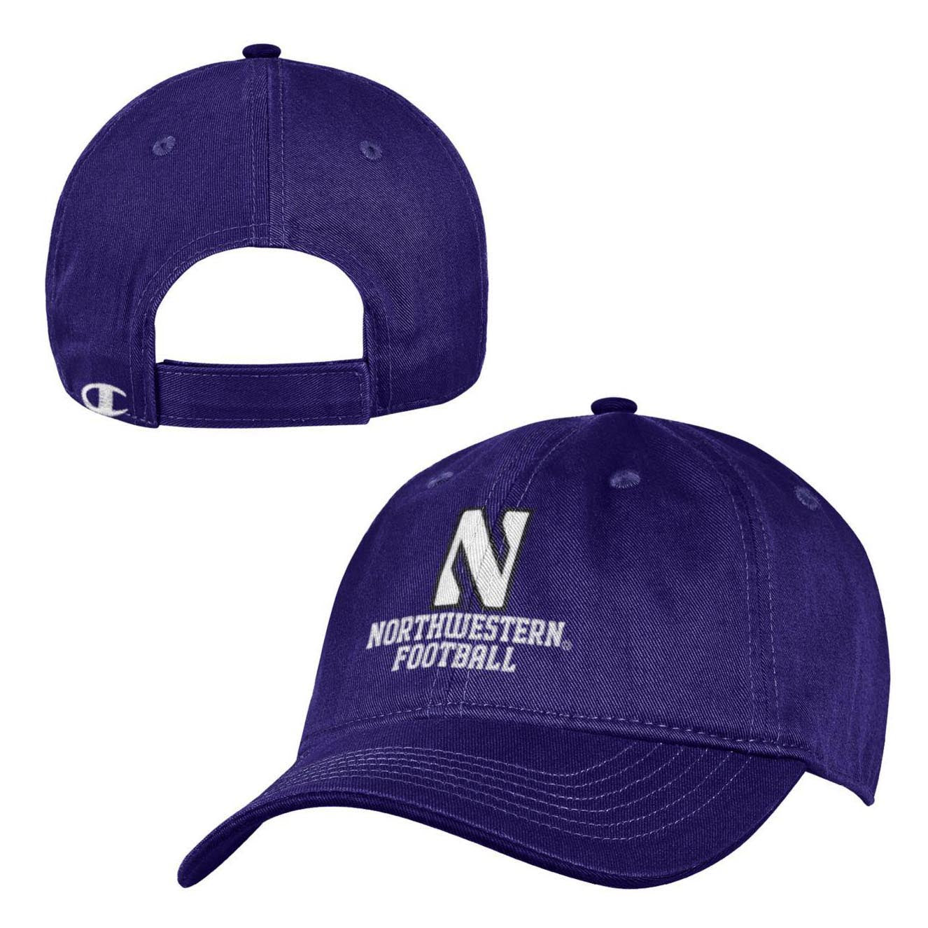 sale retailer ca287 f9b63 ... discount northwestern wildcats purple end zone cap youth northwestern  official store 3d8b3 d314c