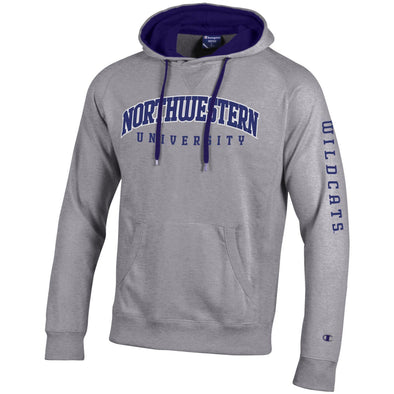 Northwestern Wildcats University Hood-Grey