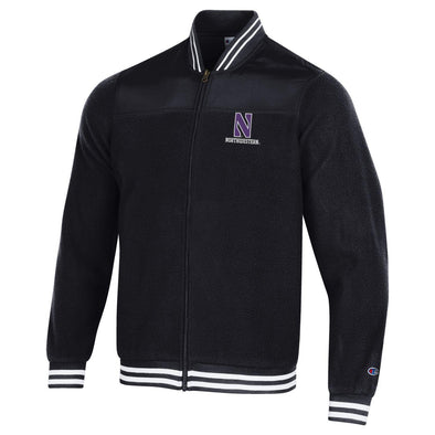 Northwestern Wildcats Men's Full Zip Sherpa Jacket