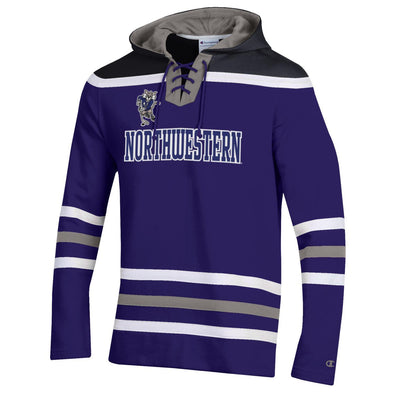 Northwestern Wildcats Heritage Hockey Hood