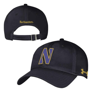 Northwestern Wildcats Gothic Adjustable Hat