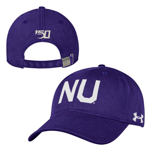 Northwestern Wildcats Under Armour Purple College Football 150th Anniversary Hat