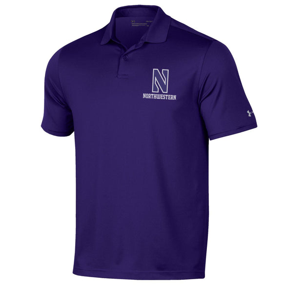Northwestern Wildcats Under Armour Performance Polo-Purple
