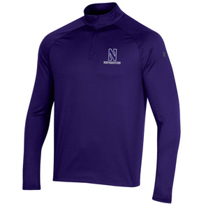 Northwestern Wildcats Under Armour Performance Quarter Zip-Purple