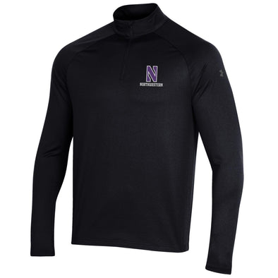 Northwestern Wildcats Under Armour Performance Quarter Zip-Black