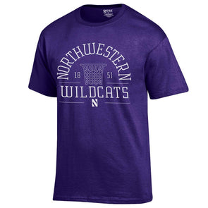 Northwestern Wildcats Gear® Sure Shot Basketball T-Shirt