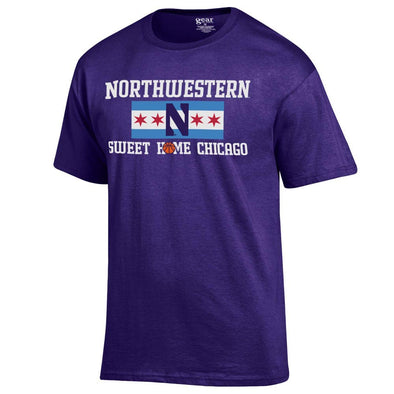 Northwestern Wildcats Sweet Home Chicago T-Shirt