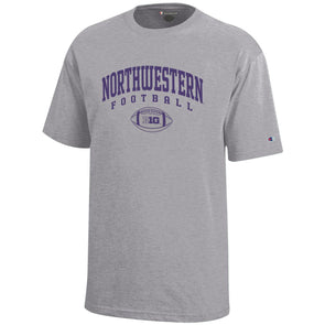 Northwestern Wildcats Big Ten Football T-Shirt-Youth