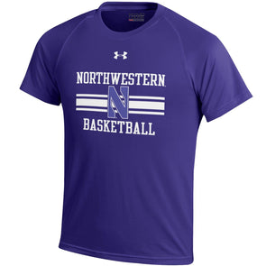 Northwestern Wildcats Performance Basketball T-Shirt