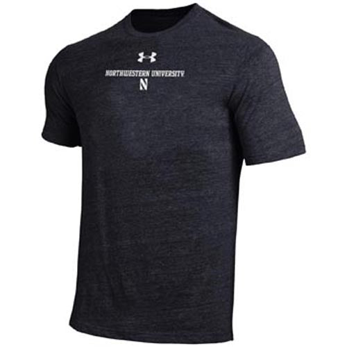 Northwestern Wildcats Under Armour® Men's Classic Charcoal T-Shirt