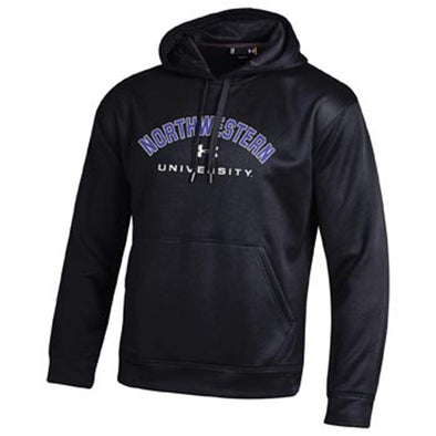 Northwestern Wildcats Under Armour® Youth Black Northwestern University Hoodie