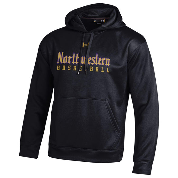 Northwestern Wildcats Under Armour® Gothic Basketball Hoodie
