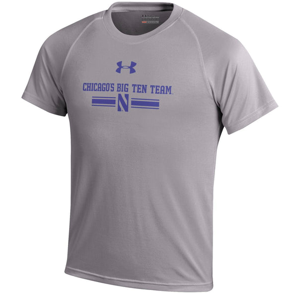 Northwestern Wildcats Under Armour® Chicago's Big Ten Team Youth T-Shirt - Purple