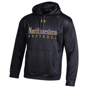 Northwestern Wildcats Under Armour® Gothic Softball Hoodie