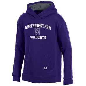 Northwestern Wildcats Under Armour® Girls Sport Style Fleece Hoodie
