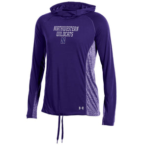 Northwestern Wildcats Under Armour® Women's Roving Threadborne Training Hoodie