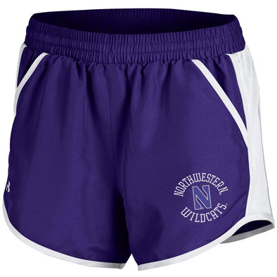 Northwestern Wildcats Under Armour® Women's Fly By Short - Purple
