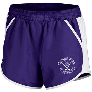 Northwestern Wildcats Under Armour Field Hockey Fly By Short-Purple