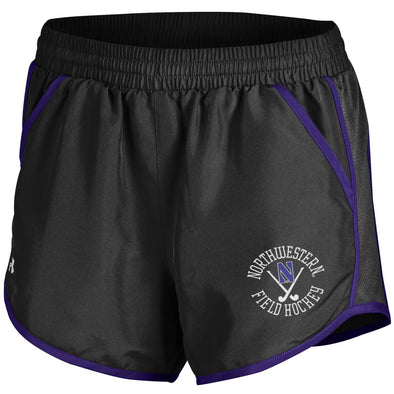 Northwestern Wildcats Under Armour Field Hockey Short-Black