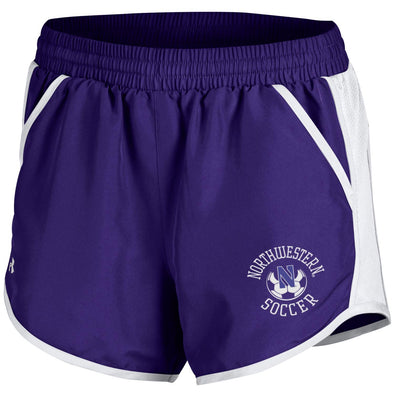 Northwestern Wildcats Under Armour Women's Soccer Fly By Short-Purple