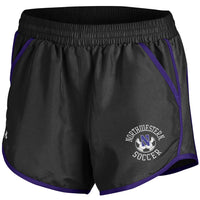 Northwestern Wildcats Under Armour Women's Soccer Fly By Short-Black
