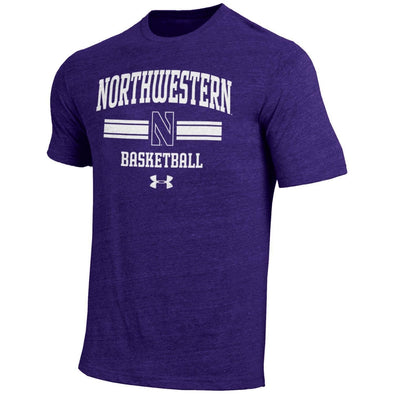 Northwestern Wildcats Under Armour® Tri-Blend Basketball T-Shirt