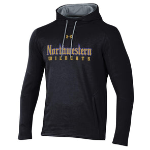 Northwestern University Wildcats Gothic Fleece Hood