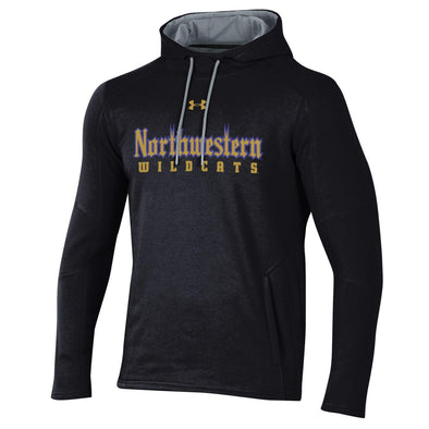 Northwestern Wildcats Under Armour Gothic Hooded Sweatshirt-Youth