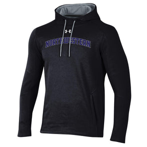 Northwestern Wildcats Under Armour Classic Arch Hood-Black