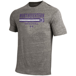 Northwestern Wildcats Under Armour Old School Basketball Tee